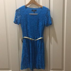 Rare Blue Lace Dress